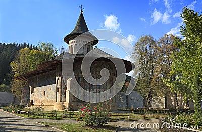 Voronet Monastery,Moldavia,Romania