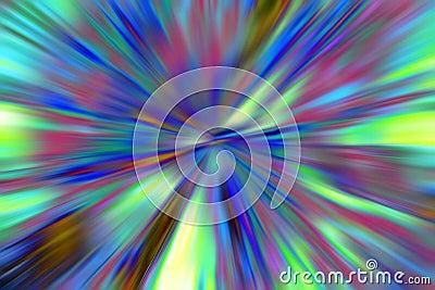 Vortex blur