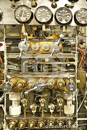 Vorwahlknöpfe und Druckanzeiger