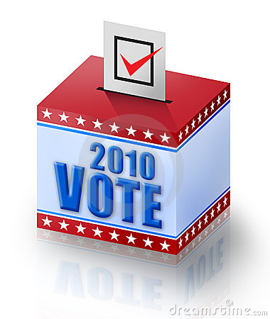 Vote 2010 Royalty Free Stock Photo - Image: 15401765