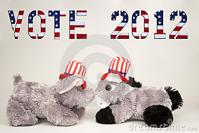 Vote 2012 Editorial Stock Image
