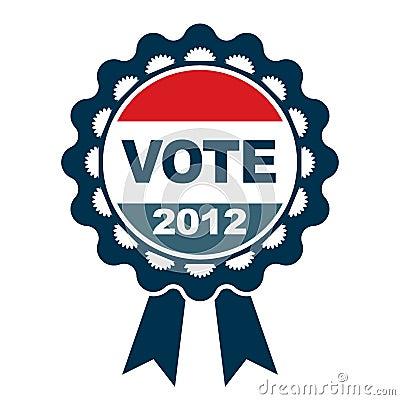 Vote 2012 emblem