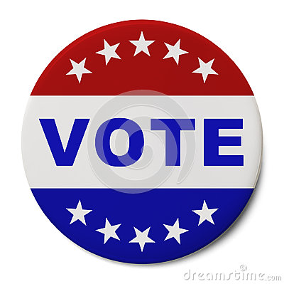 Free Vote Button Stock Photo - 36269520