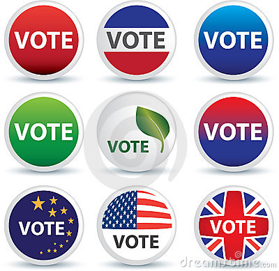 Vote buttons or badges