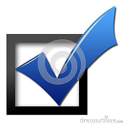 Free Vote Check Stock Photo - 22941130