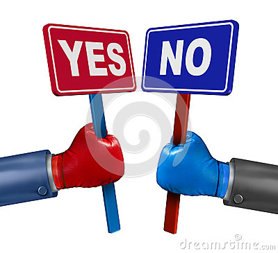 Vote Conflict Stock Images Image 32278834