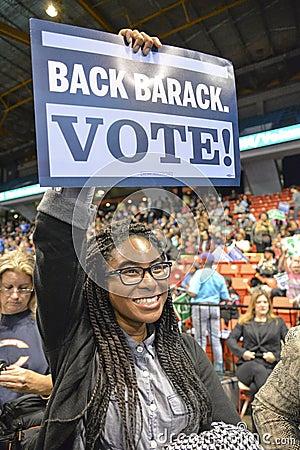 Free Vote For Obama Royalty Free Stock Photo - 45434895