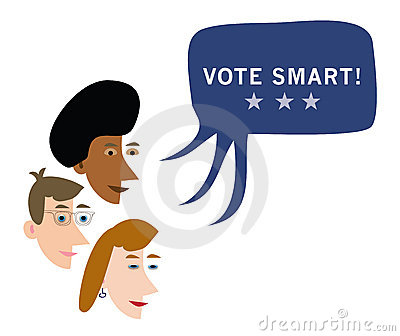 Vote smart advice