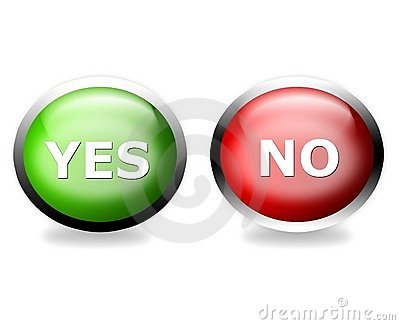 Vote yes or no!