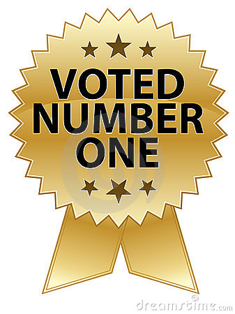 Voted Number One Seal