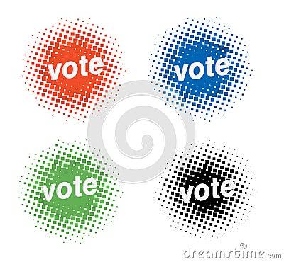 Voting icons