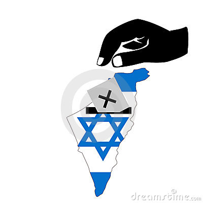 Voting in israeli election