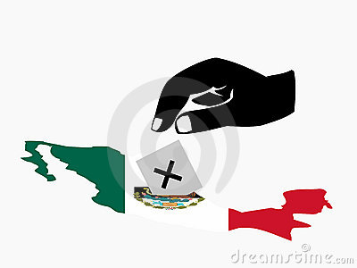 Voting in Mexican election