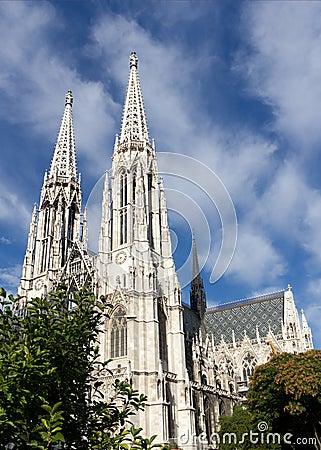 Votive Church in Vienna, Austria