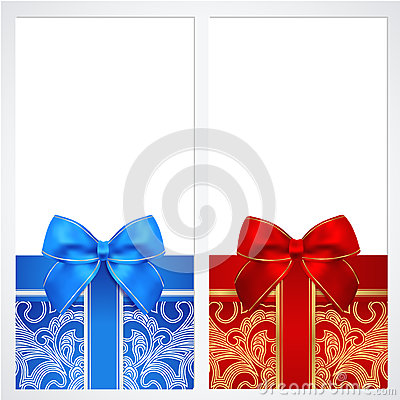 Free Voucher, Gift Certificate, Coupon Template. Box Royalty Free Stock Images - 32772999