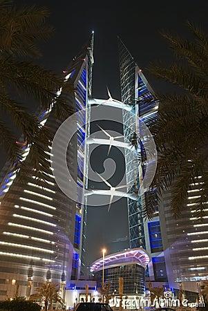 Värld för bahrain mitthandel