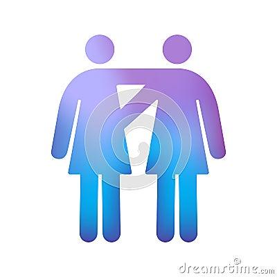 Vrolijk Vrouwelijk Paar