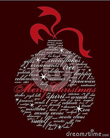 Vrolijke Kerstmis en andere vakantiewoorden