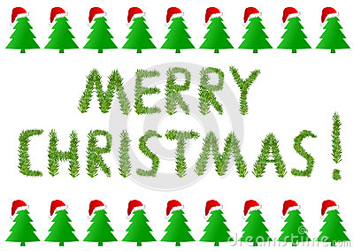 Vrolijke Kerstmis met Kerstboom