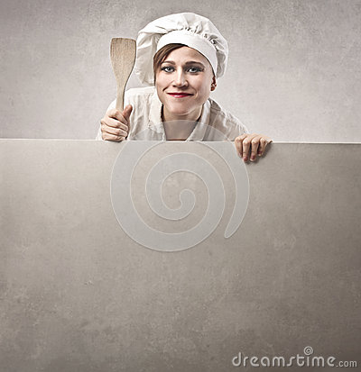 Vrouw Cook