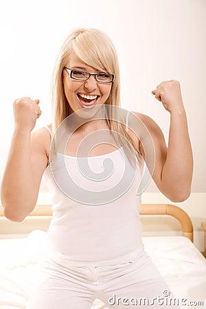 Vrouw het gesturing