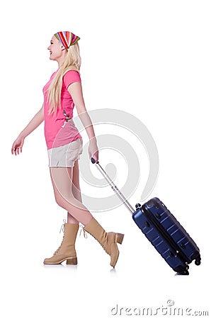 Vrouw het voorbereidingen treffen