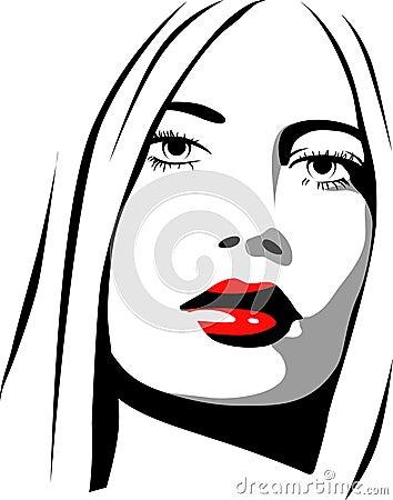 Vrouwelijk pictogram