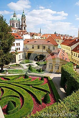 Free Vrtba Garden Of Prague Royalty Free Stock Photos - 20663708