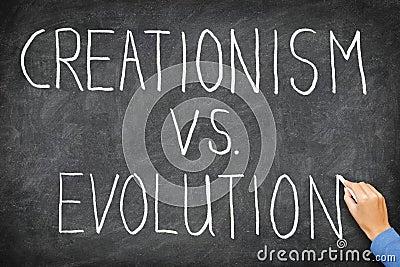 Vs kreacjonizm ewolucja