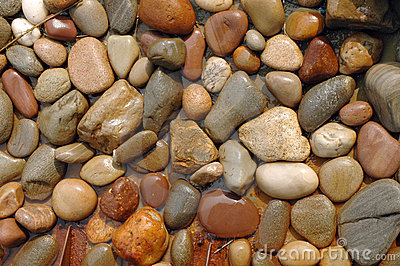 Våta stenar