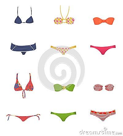 Vêtements de bain femelles