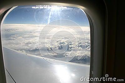 Vue d un avion