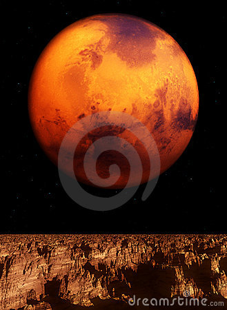 Vue de Mars