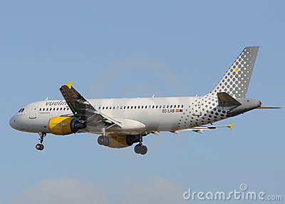 Vueling Airbus A320 Editorial Image