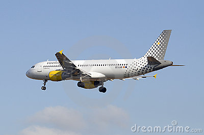 Vueling Airbus A320 Editorial Stock Image