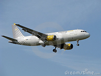 Vueling airlines jet Editorial Stock Image
