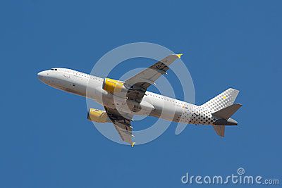 A320 Vueling Editorial Photo