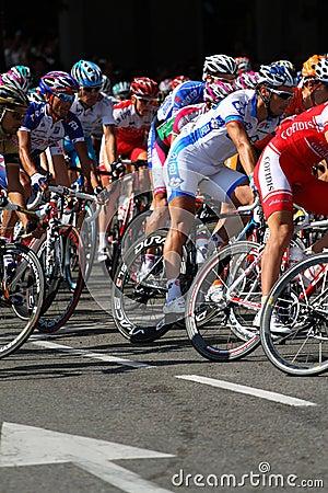 Vuelta a España 2010 Editorial Stock Image