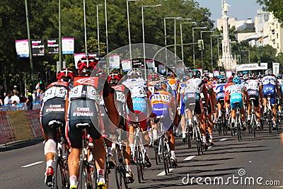 Vuelta a España 2010 Editorial Stock Photo