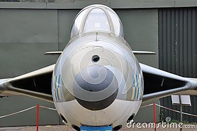 Vulcan bomber cockpit