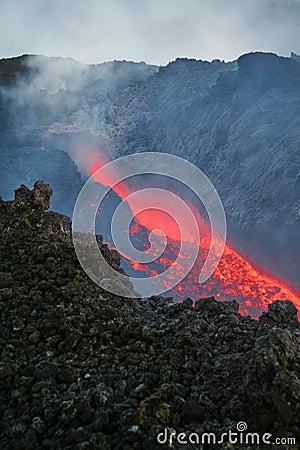 Free Vulcan Lava Stock Image - 9540761