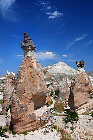 Free Vulcanic Columns Relief In Cappadocia Royalty Free Stock Image - 10394936