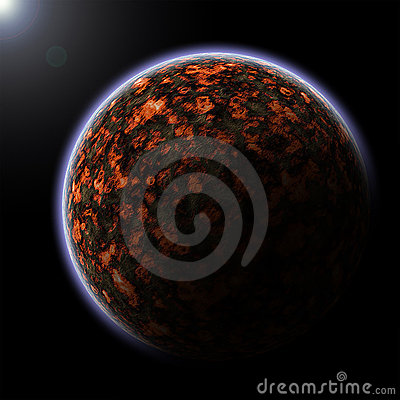 Free Vulcanic Planet Stock Images - 20039704