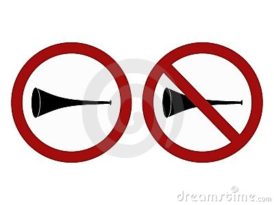 Vuvuzela signs