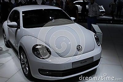 VW Beetle on 64rd IAA Editorial Photography