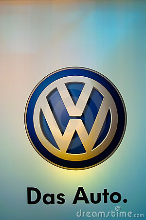VW Car Logo, Editorial Photography - Image: 7966172