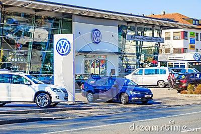 VW dealership Editorial Photo