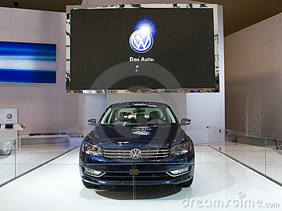 VW Display Editorial Stock Image
