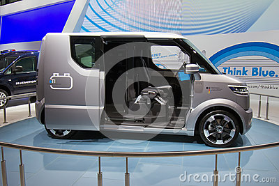 VW eT! electric Transporter Editorial Stock Image