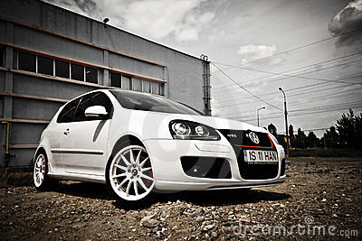 Vw golf GTI Editorial Photography